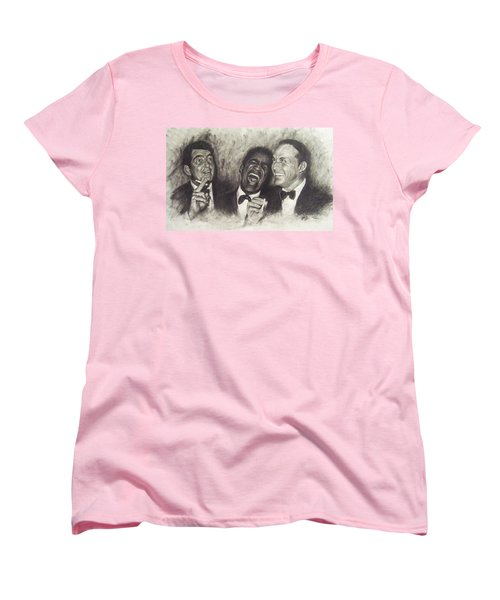 Rat Pack Women's T-Shirt (Standard Cut) by Cynthia Campbell
