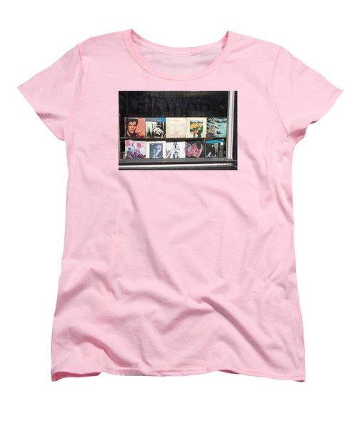 Record Store Burlington Vermont Women's T-Shirt (Standard Cut) by Edward Fielding