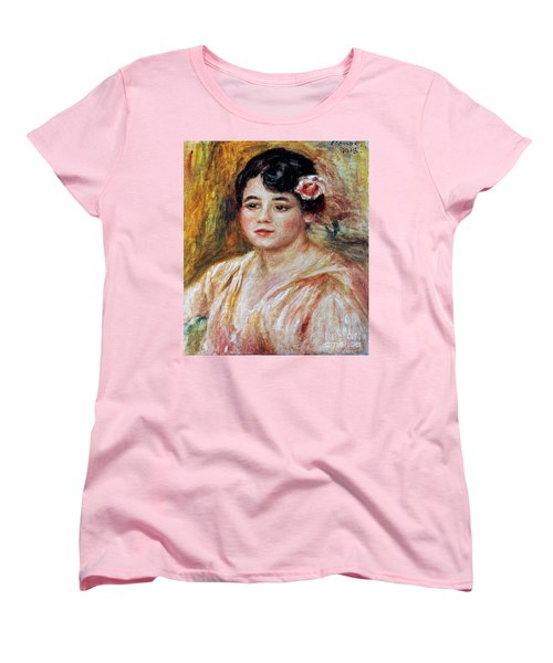 Renoir: Adele Besson, 1918 Women's T-Shirt (Standard Cut) by Granger