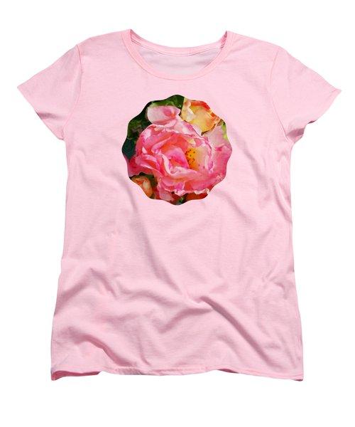 Roses Women's T-Shirt (Standard Cut) by Anita Faye