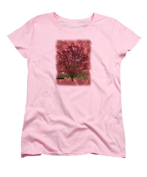 Seeing Red 2 Women's T-Shirt (Standard Cut) by John M Bailey