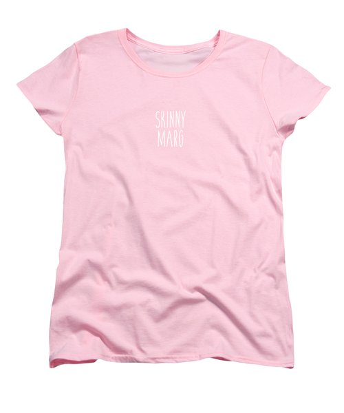 Skinny Marg Women's T-Shirt (Standard Cut) by Cortney Herron