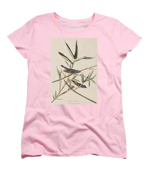 Solitary Flycatcher Or Vireo Women's T-Shirt (Standard Cut) by John James Audubon