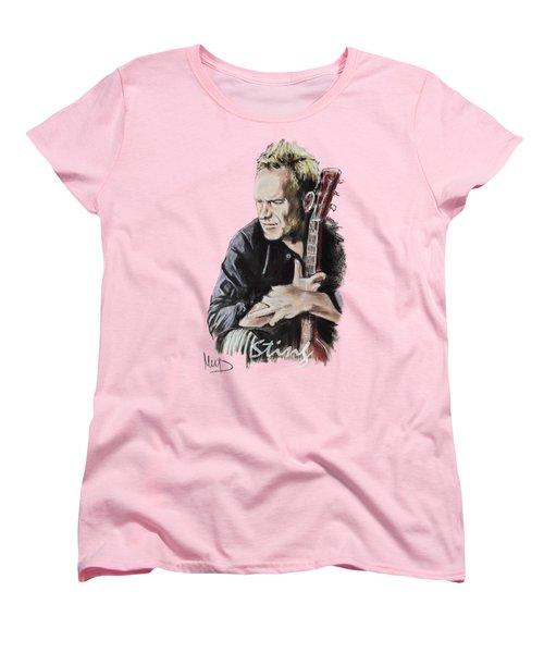Sting Women's T-Shirt (Standard Cut) by Melanie D