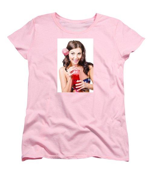 Summer Holidays Women's T-Shirt (Standard Cut) by Jorgo Photography - Wall Art Gallery