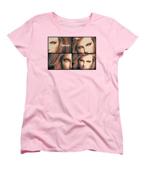 Taylor Swift - Parallels Women's T-Shirt (Standard Cut) by Robert Radmore