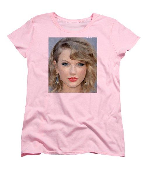 Taylor Swift Women's T-Shirt (Standard Cut) by Samuel Majcen
