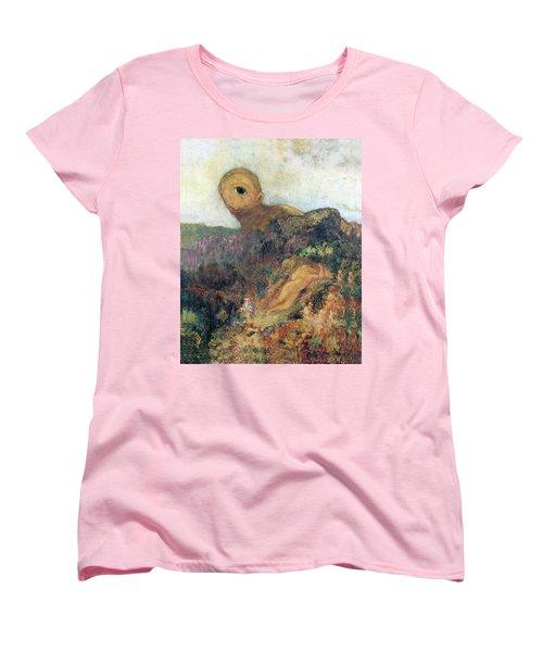 The Cyclops Women's T-Shirt (Standard Cut) by Odilon Redon