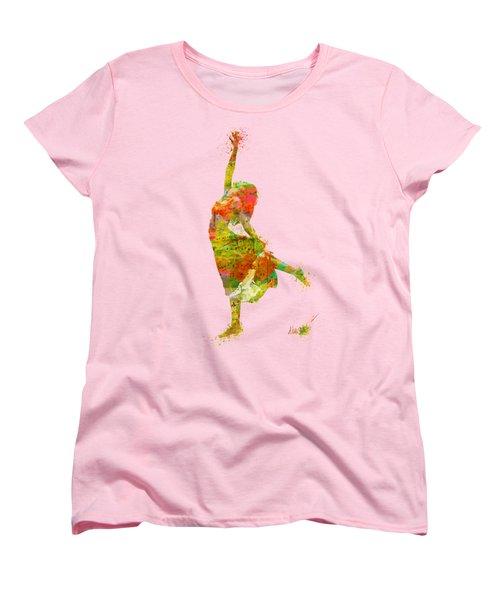 The Music Rushing Through Me Women's T-Shirt (Standard Cut) by Nikki Smith