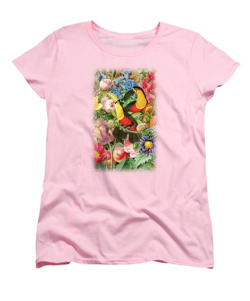 Toucans Women's T-Shirt (Standard Cut) by Gary Grayson