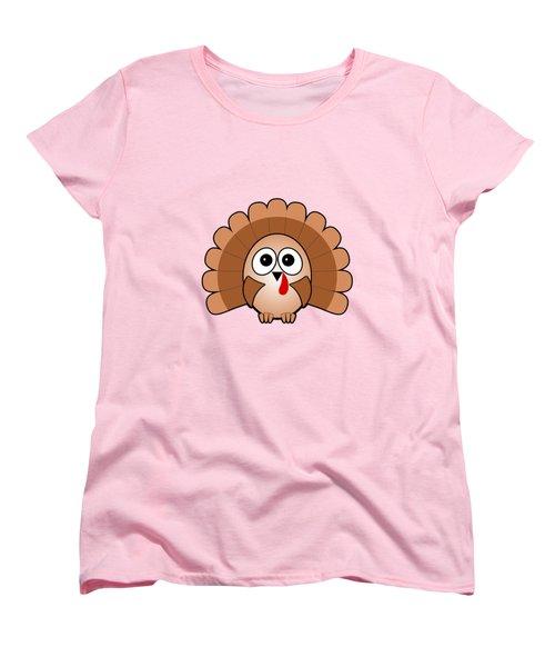 Turkey - Birds - Art For Kids Women's T-Shirt (Standard Cut) by Anastasiya Malakhova