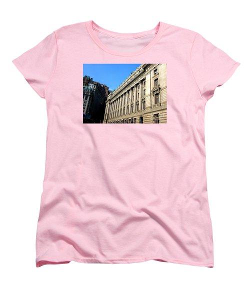 U S Custom House 1 Women's T-Shirt (Standard Cut) by Randall Weidner