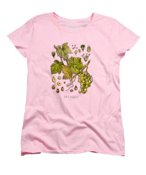 Vitis Vinifera Women's T-Shirt (Standard Cut) by Justyna JBJart