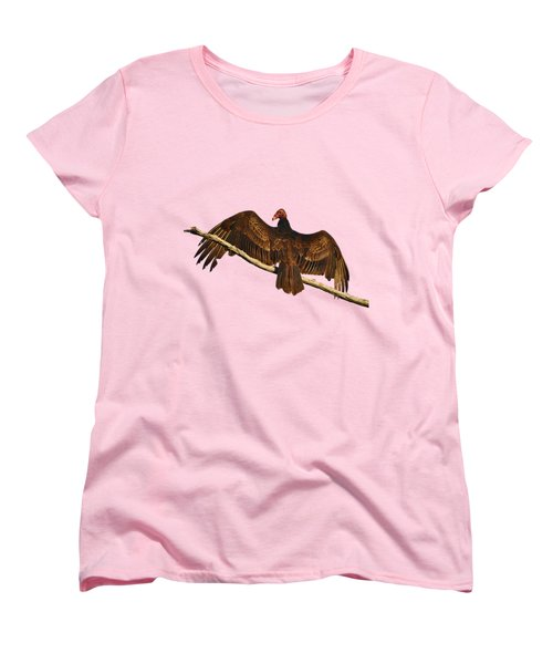 Vivid Vulture .png Women's T-Shirt (Standard Cut) by Al Powell Photography USA