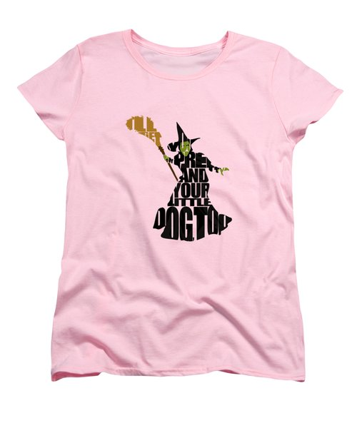 Wicked Witch Of The West Women's T-Shirt (Standard Cut) by Ayse Deniz