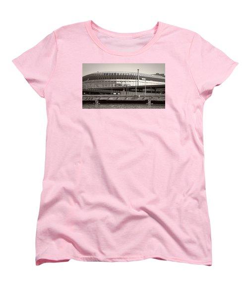Yankee Stadium    1923  -  2008 Women's T-Shirt (Standard Cut) by Daniel Hagerman