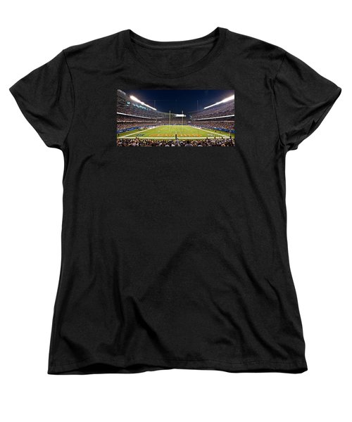 0587 Soldier Field Chicago Women's T-Shirt (Standard Cut) by Steve Sturgill