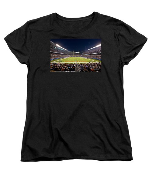 0588 Soldier Field Chicago Women's T-Shirt (Standard Cut) by Steve Sturgill