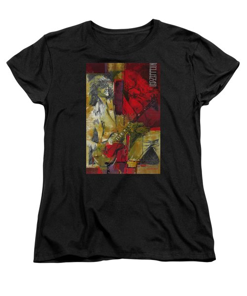 Led Zeppelin  Women's T-Shirt (Standard Cut) by Corporate Art Task Force