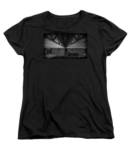 Under The Pier Women's T-Shirt (Standard Cut) by James Dean