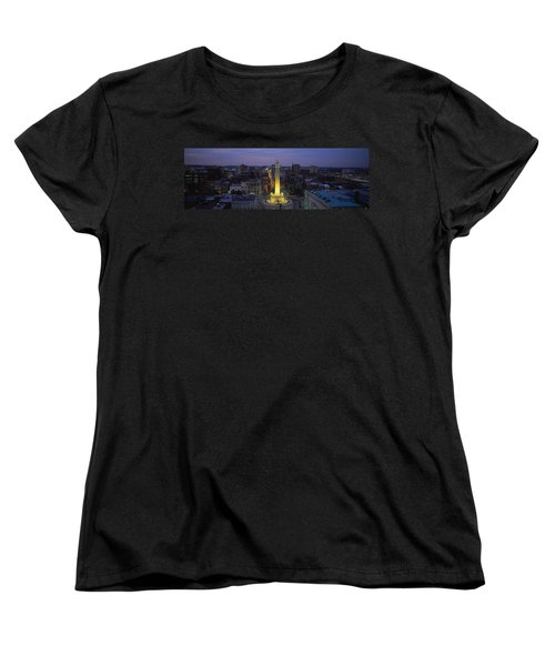 High Angle View Of A Monument Women's T-Shirt (Standard Cut) by Panoramic Images