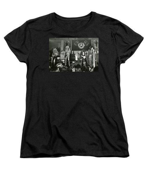 Aerosmith - Aerosmith Tour 1973 Women's T-Shirt (Standard Cut) by Epic Rights