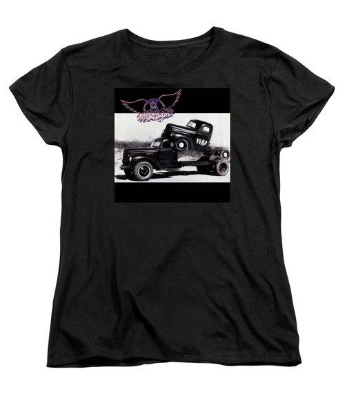 Aerosmith - Pump 1989 Women's T-Shirt (Standard Cut) by Epic Rights