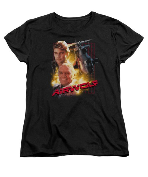 Airwolf - Airwolf Women's T-Shirt (Standard Cut) by Brand A