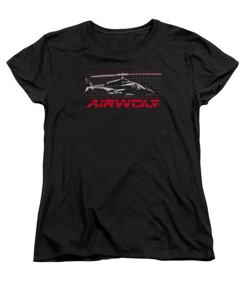 Airwolf - Grid Women's T-Shirt (Standard Cut) by Brand A
