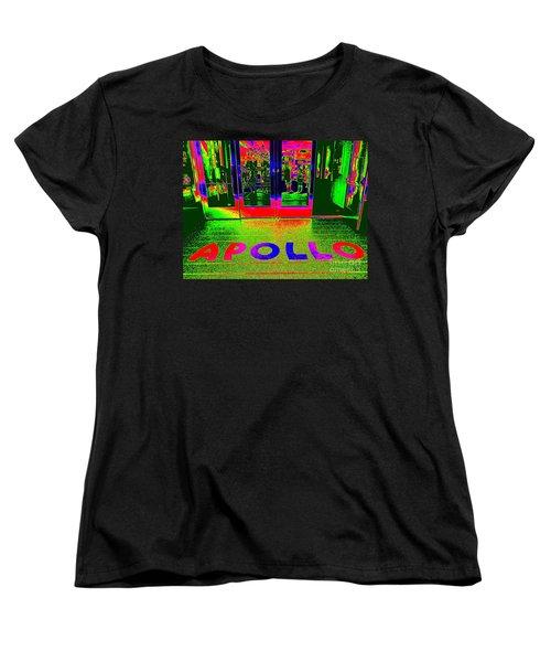 Apollo Pop Women's T-Shirt (Standard Cut) by Ed Weidman