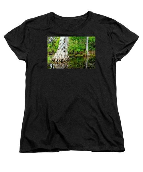Backcountry Women's T-Shirt (Standard Cut) by Carey Chen