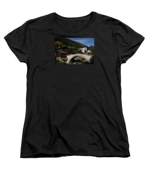 Women's T-Shirt (Standard Cut) featuring the photograph Binn by Travel Pics