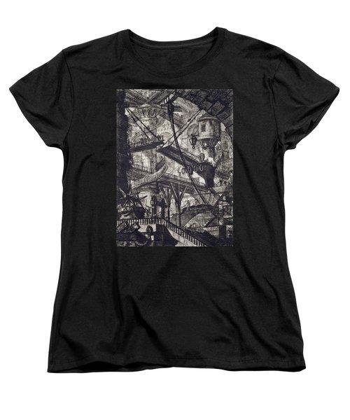 Carceri Vii Women's T-Shirt (Standard Cut) by Giovanni Battista Piranesi
