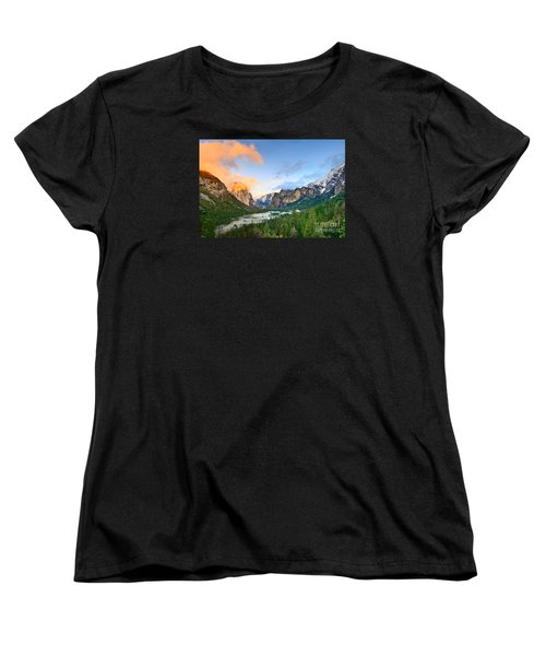Colors Of Yosemite Women's T-Shirt (Standard Cut) by Jamie Pham