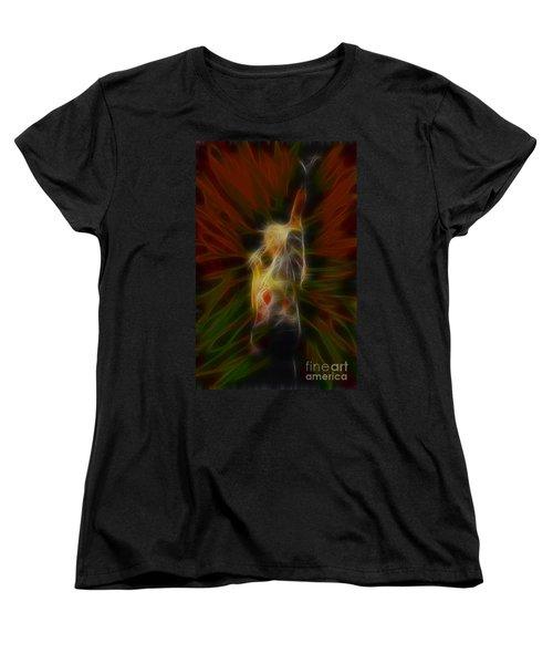 Def Leppard-adrenalize-joe-gb22-fractal Women's T-Shirt (Standard Cut) by Gary Gingrich Galleries