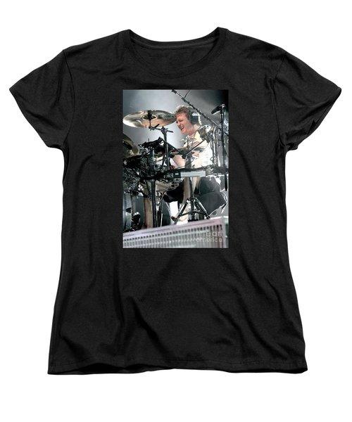 Def Leppard Women's T-Shirt (Standard Cut) by Concert Photos