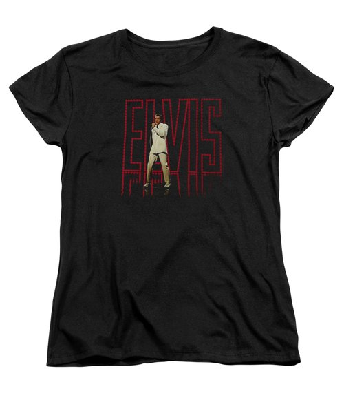 Elvis - Elvis 68 Album Women's T-Shirt (Standard Cut) by Brand A