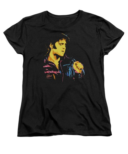 Elvis - Neon Elvis Women's T-Shirt (Standard Cut) by Brand A