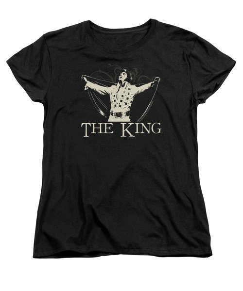 Elvis - Ornate King Women's T-Shirt (Standard Cut) by Brand A