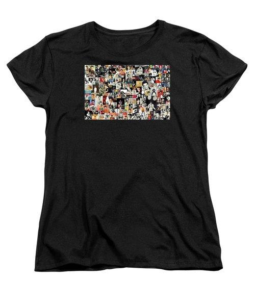 Elvis The King Women's T-Shirt (Standard Cut) by Taylan Soyturk