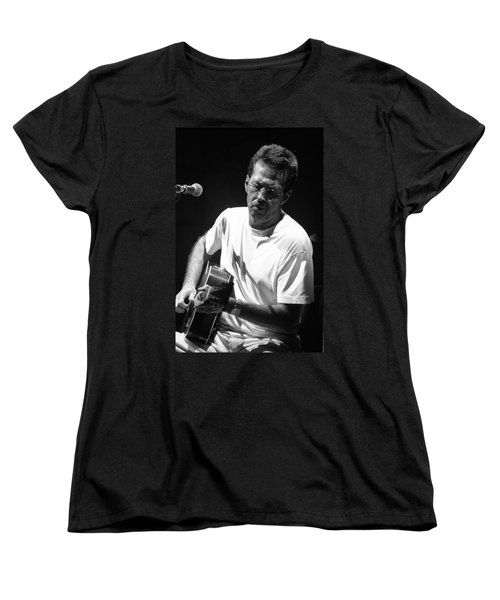 Eric Clapton 003 Women's T-Shirt (Standard Cut) by Timothy Bischoff