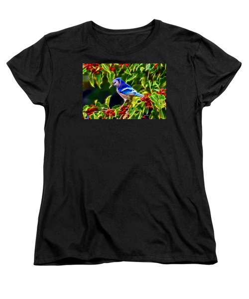 Hiding In The Berries Women's T-Shirt (Standard Cut) by Stephen Younts