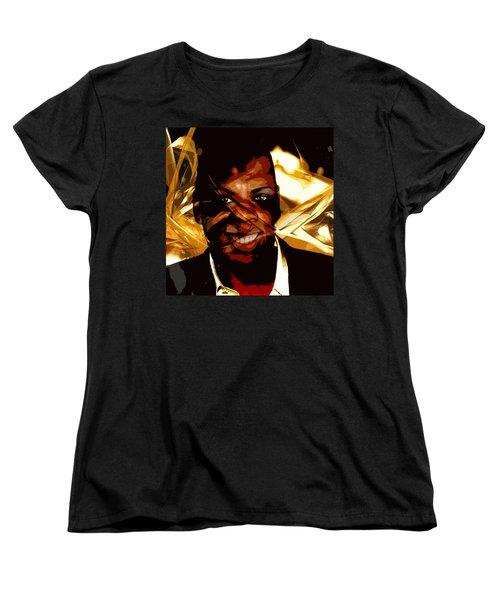 Jay-z Knowles Women's T-Shirt (Standard Cut) by Jean raphael Fischer