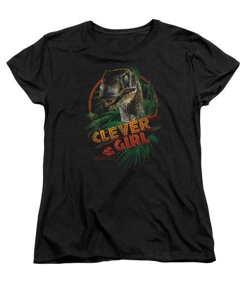 Jurassic Park - Clever Girl Women's T-Shirt (Standard Cut) by Brand A