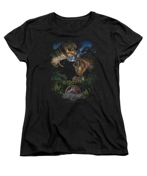 Jurassic Park - Happy Family Women's T-Shirt (Standard Cut) by Brand A