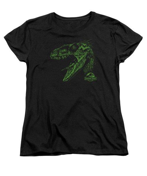Jurassic Park - Raptor Mount Women's T-Shirt (Standard Cut) by Brand A