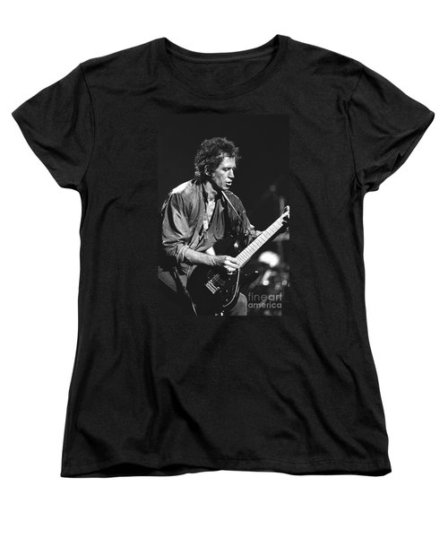 Keith Richards Women's T-Shirt (Standard Cut) by Concert Photos