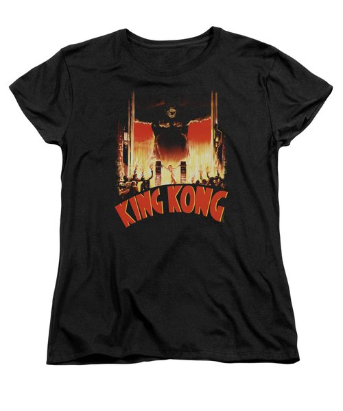 King Kong - At The Gates Women's T-Shirt (Standard Cut) by Brand A
