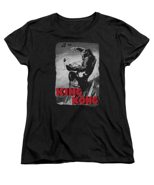 King Kong - Planes Poster Women's T-Shirt (Standard Cut) by Brand A