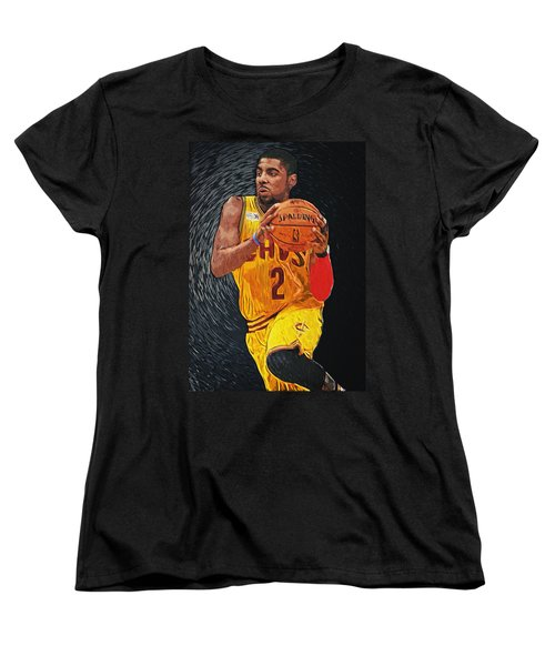 Kyrie Irving Women's T-Shirt (Standard Cut) by Taylan Apukovska